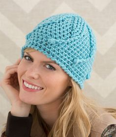 Mermaid Tails Hat Free Crochet Pattern from Red Heart Yarns