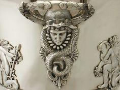 Sterling Silver Wine Cooler By Charles Stuart Harris - Antique Edwardian | 450456 | Sellingantiques.co.uk