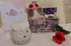 Beautiful Small Pink Vintage Style Gift Pamper Hamper Suitcase Mother's Day S in Home, Furniture & DIY, Celebrations & Occasions, Other Celebrations & Occasions | eBay