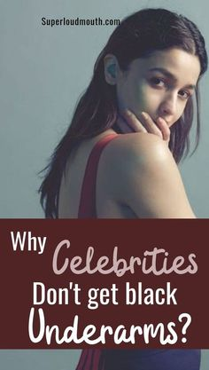 Why Celebrities don't get Black Underarms? Here's their secret! Why Celebrities don't get Black Underarms? Here's their secret! Beauty Tips For Skin, Best Beauty Tips, Beauty Care, Beauty Skin, Skin Care Tips, Beauty Hacks, Beauty Secrets, Diy Beauty, Beauty Products