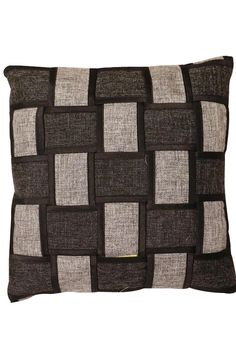 5 Pcs Cushion Covers In Designer Handloom Black Color Sofa Covers, Throw Pillow Covers, Throw Pillows, Blue Dart, Cushion Covers Online, Deck Chairs, Cover Size, Sofa Set, Color Show