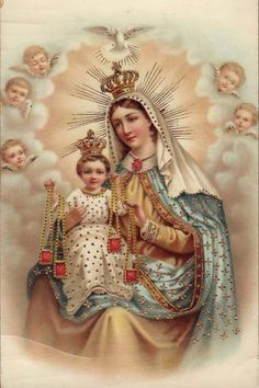 BVM Our Lady Of Mount Carmel Pray for us.