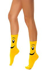 Foot Traffic The Smiley Face Sock