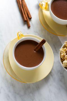 Cinnamon and Tequila Hot Chocolate. Cinnamon and Tequila Hot Chocolate. Best Hot Chocolate Recipes, Spiked Hot Chocolate, Crockpot Hot Chocolate, Chocolate Cocktails, Mexican Chocolate, Comida Latina, Winter Drinks, In Vino Veritas, Crack Crackers