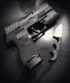 "( ""The Sig Compact with Inforce APLc, Apex trigger, and Obsidian Arms basepad."