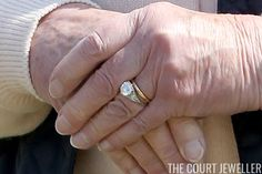 The Sunday Ring: Queen Elizabeth II's Engagement Ring | The Court Jeweller