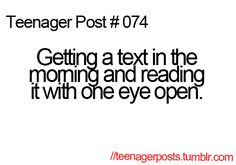 I'm not a teenager, but I can definitely still relate! Teenager Posts Boys, Teenager Quotes, Teen Quotes, Post Quotes, Funny Quotes, Funny Memes, Hilarious, Jokes, Videos Funny
