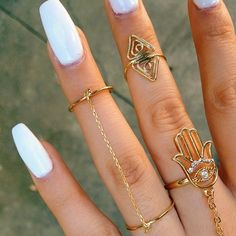 gyűrű white fingers
