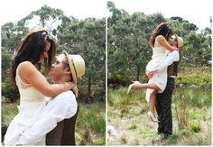 An Aussie bush wedding shoot by Stephanie Newbold
