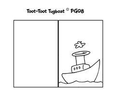 Tugboat card template I made