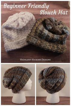 Casual Friday Slouch - Highland Hickory Designs - Free Crochet Pattern 1341e9b1d03d