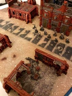 Warhammer Terrain, 40k Terrain, Game Terrain, Wargaming Terrain, Infinity Mirror, Diorama Ideas, Warhammer 40000, Tabletop Games, Model Pictures