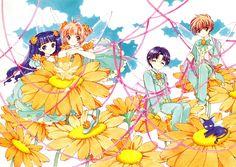 Cardcaptor Sakura | CLAMP | Madhouse / Kinomoto Sakura, Daidouji Tomoyo, Li Shaoran, and Hiragizawa Eriol