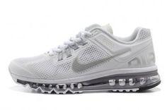 Nike Air Max 2013 Womens White Running Shoes