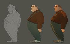 Beautiful Character Design by Vivien Bertin   Abduzeedo Design Inspiration