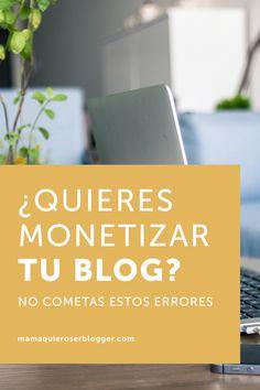 ¿QUIERES MONETIZAR TU BLOG? NO COMETAS ESTOS ERRORES  Después de casi 4 años viviendo de mi blog de Nueva York, puedo darte algunos consejos si tu fin es monetizar.  Para que un blog genere ingresos suficientes debes tomártelo tan en serio como si de un negocio se tratara, esto es algo que repito muy a menudo.  Debes saber que un blog no es un negocio. Un negocio es un negocio, mientras que el blog es una herramienta de marketing.  Quiero enumerar algunos de los errores más comunes.