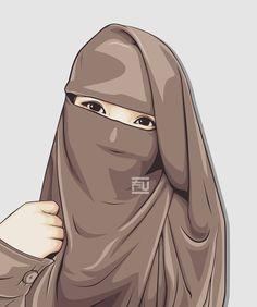 46 Gambar Kartun Muslimah Fu Gratis Terbaik