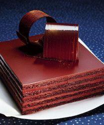 Миндальный бисквит с цитрусово-шоколадным кремом