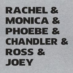 Friends Characters Funny TV Show Rachel Ross Phoebe Graphic Novelty Tee T-shirt #LimpinLarrysTshirts #GraphicTee