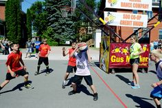 During the summer months in Sault Ste. Marie, Michigan, you can expect great events to experience; including the Gus Macker Basketball Tournament! Here is the registration form.