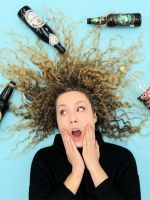 This Is What Happens When You Dump Beer On Your Hair #refinery29