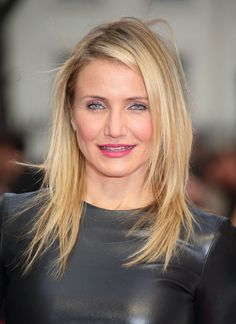 Even with windswept strands, Cameron Diaz pulled off a sultry look on The Other Woman's red carpet.