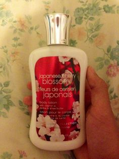 New body lotion