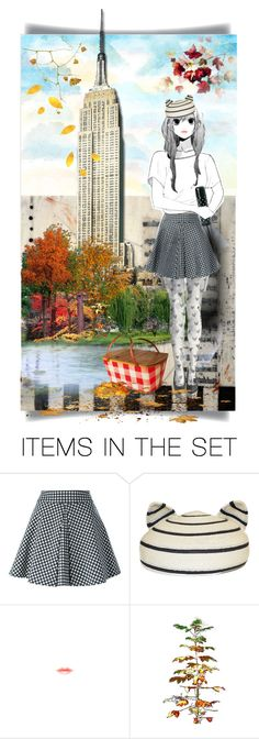 """""""Hot coffee in Central Park"""" by kikilea ❤ liked on Polyvore featuring art"""