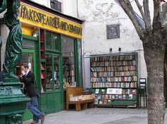 Shakespeare and Company Bookshop in Paris | by BMartinPR1, via Flickr