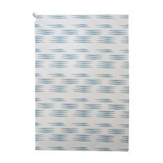 Arrow Printed 100% Organic Cotton Tea Towel Blue by Nitin Goyal London, £10.00
