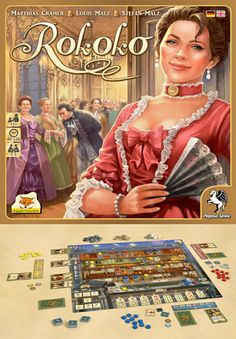 Who Wants to Play? Rococo (Rokoko): A game of costume creation.  In the game Rococo by Eagle Games, players take the roles of clothing crafters in France during the 18th century and the reign of King Louis XV. The goal is to make coats and dresses for a prestigious ball by outdoing the competition.