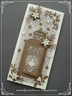 10/27/2011; Elly at 'Elly's Card Corner' blog with English translation available for this Christmas card