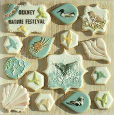 Orkney Nature Festival Cookies     http://www.honeycatcookies.blogspot.co.uk