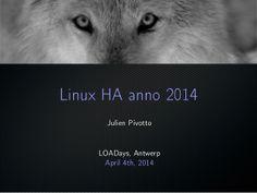 Linux HA anno 2014
