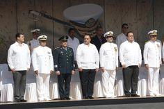 ASISTE BORGE A LA ENTREGA-RECEPCIÓN DE MANDO DE ARMAS DE LA PRIMERA REGIÓN NAVAL