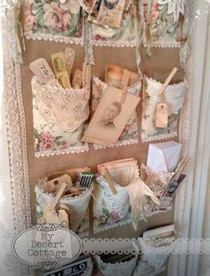 Creative DIY storage!