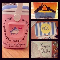 big little reveal cooler...like the saying on it :)