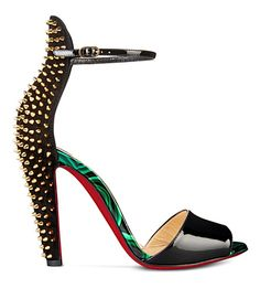 Studded Christian Louboutin Heels from Selfridges Cute Shoes, Me Too Shoes, Shoe Boots, Shoes Heels, Christian Louboutin Heels, Only Shoes, Shoe Art, Shoe Closet, Beautiful Shoes