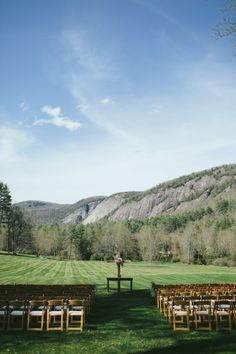 #outdoorwedding at #lonesomevalley in #cashiersnc #HappiLEEeverafter