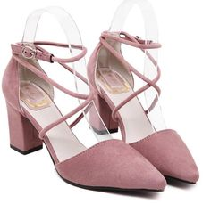 Cheap party pumps, Buy Quality strap shoes directly from China pointed toe Suppliers: 3 colors Women Shoes Summer Square heel Pointed Toe Buckle Strap Sandals Matte velvet Wedding Casual Party Pumps Strap Shoes Converse Wedding Shoes, Wedge Wedding Shoes, Sandals Wedding, Womens Summer Shoes, Womens High Heels, Thick Heels Pumps, Pumps Heels, Low Heels, Sandal Heels