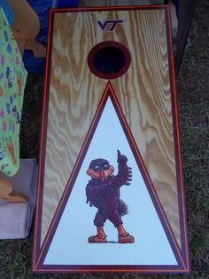 hokie bird boards. perfect.