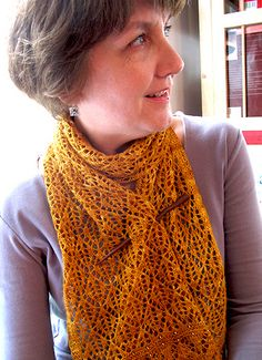 Kernel scarf by Bonnie Sennott (free pattern)