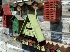 Horst's Mason Bee Village - Clever design for attracting pollinating bees to your garden