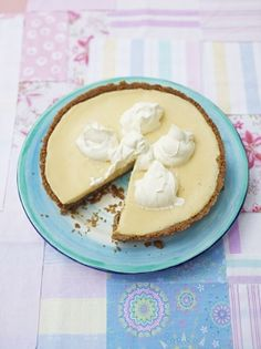 Key lime pie | Jamie Oliver
