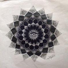 Mandala by Mar Tattoo Mandala, Tapestry, Tattoos, Home Decor, Hanging Tapestry, Tapestries, Tatuajes, Decoration Home, Room Decor