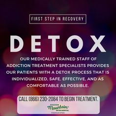 Individualized, medical #detoxification from drugs & alcohol under the supervision of specialists that have experience generating real results.  Call (866) 230-2084 to learn more. ○○○ #Addiction #Recovery #AddictionRecovery #ShadowMountainRecovery #Aspen #Cascade #ColoradoSprings #Denver #Colorado #Albuquerque #Taos #NewMexico #StGeorge #Utah #RecoveryIsPossible #RecoveryIsWorthIt #WeDoRecover #12Steps #12Step #Sober #Sobriety