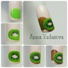 Nails art designs summer polish Most Popular Ideas Food Nail Art, Fruit Nail Art, New Nail Art, Fruit Nail Designs, Butterfly Nail Art, Nail Art Designs Videos, Popular Nail Art, Gel Nagel Design, Rose Nails