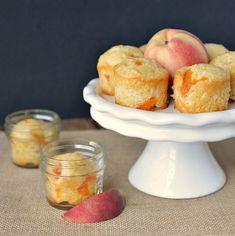 Peach Bread in Mason