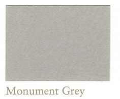 'Monument Grey' by Painting The Past