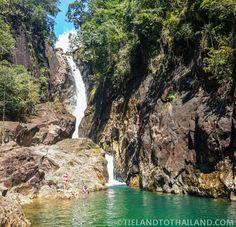 Khlong Phlu Waterfall at Mu Koh Chang National Park - Koh Chang, Thailand <3